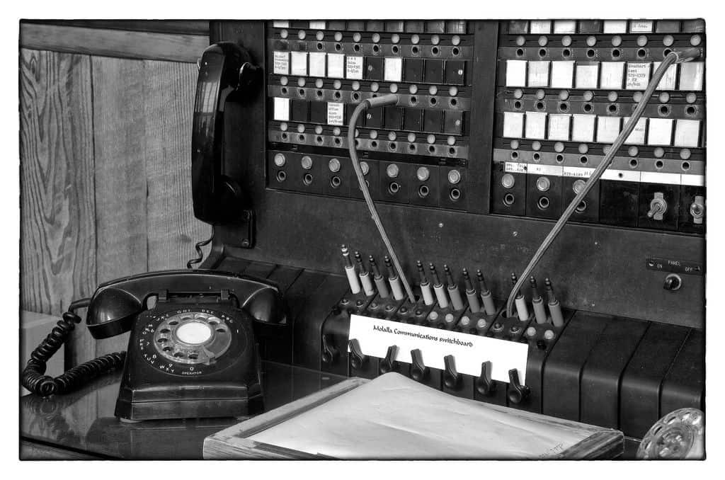 מרכזיית טלפונים