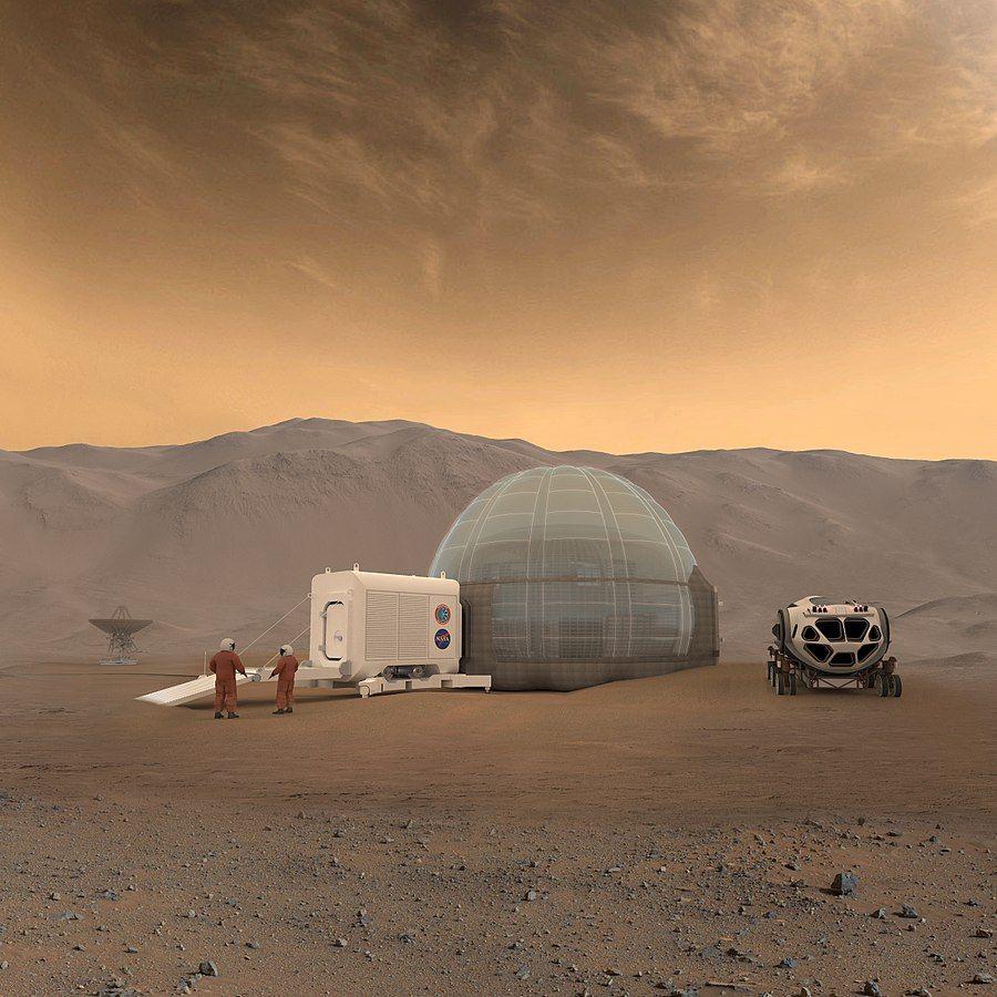 """התיישבות, מאדים, תא לחץ, גשושית, הדפסת 3D, נאס""""א"""