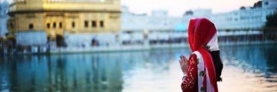 אמריצר, מקדש הזהב, תפילה, הודו