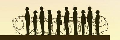 קהל, גדר תיל, קהל שבוי