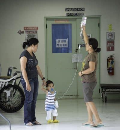 עירוי, פעוט, פיליפינים, בית חולים, Cebu