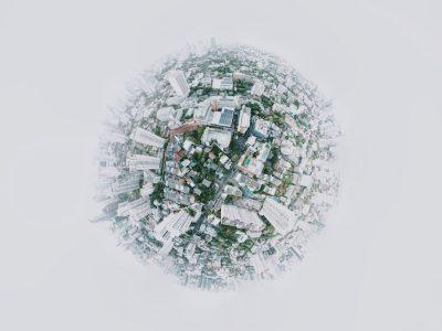 עולם, עיר, עין הדג, נוף עירוני