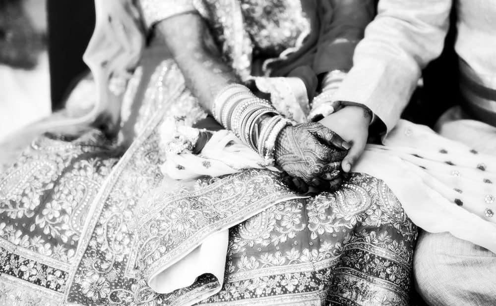 חתונה, חינה, הודו, חתן וכלה