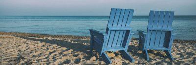כיסאות נוח, ים, חוף