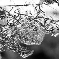 זכוכית מרוסקת, התרסקות