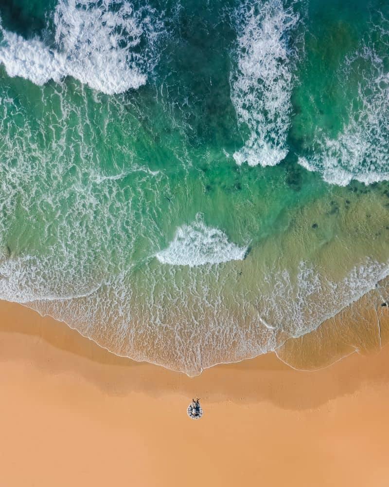 גאות ושפל, חוף ים