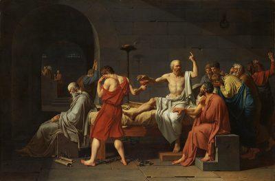 מותו של סוקרטס, ז'ק-לואי דויד