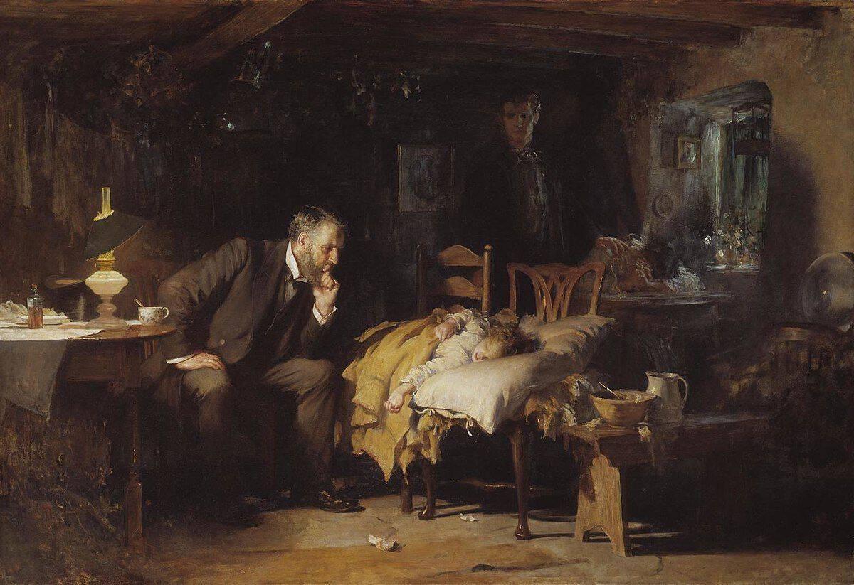 לוק פילדס, הרופא