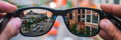 משקפיים, ראייה חדה