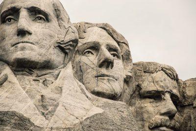 """הר רשמור, נשיאי ארה""""ב"""