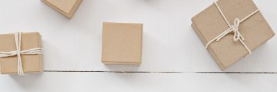 חבילות, נייר אריזה