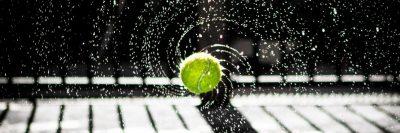 כדור טניס, סיבוב