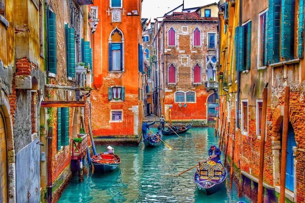 ונציה, סירות