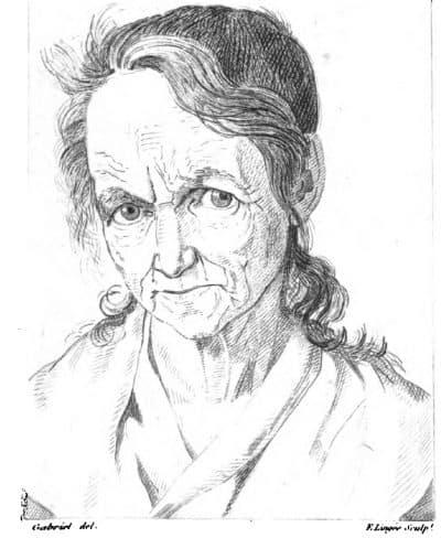 קמטים, אישה