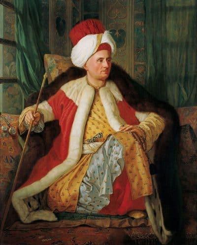 אנטואן דה פבריי, שגריר צרפתי, עות'מאני