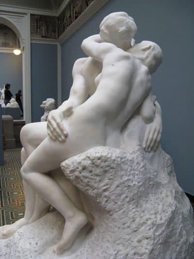 הנשיקה, רודן