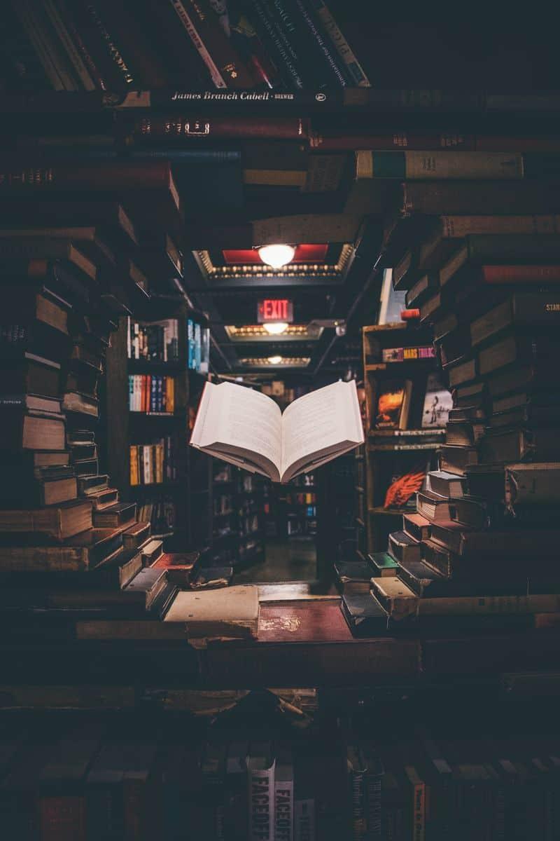 ספר, חנות ספרים, ספר מרחף