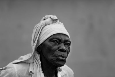 אישה, שחורה, האיטי