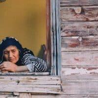 איסטנבול, אישה, חלון, מבט