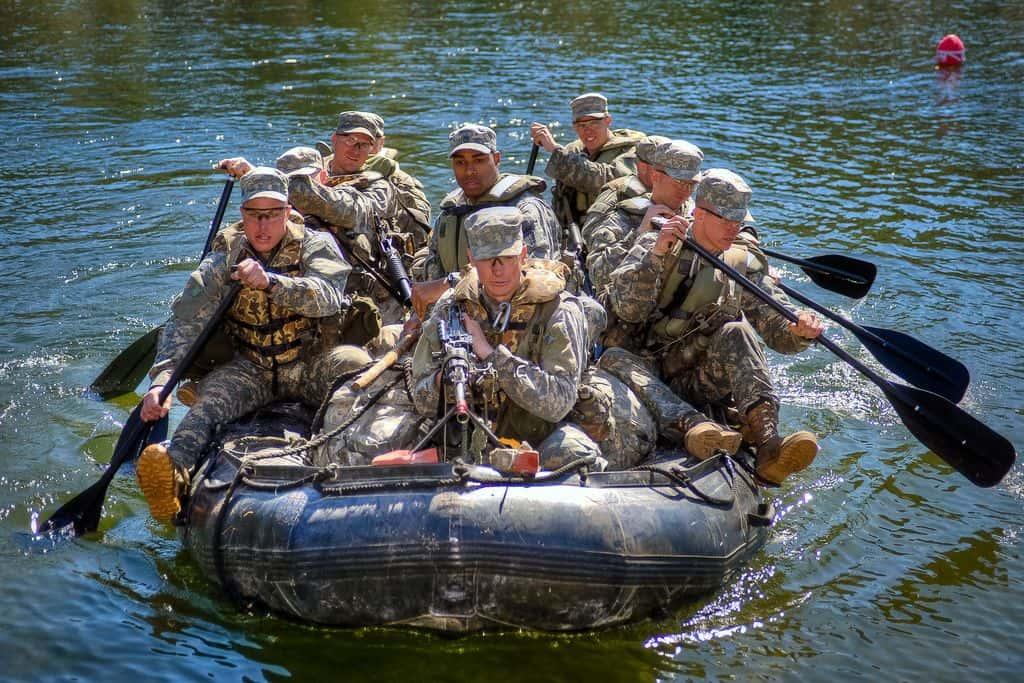 """סירת גומי, צבא ארה""""ב"""