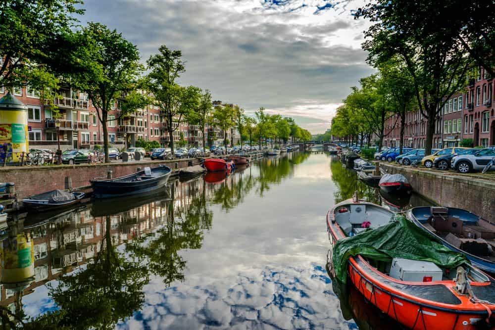 אמסטרדם, תעלה