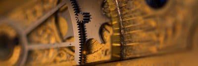 גלגלי שיניים, שעון, מנגנון