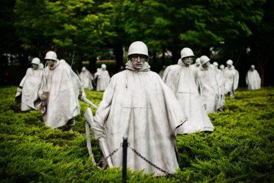 אנדרטה, מלחמה, וושינגטון