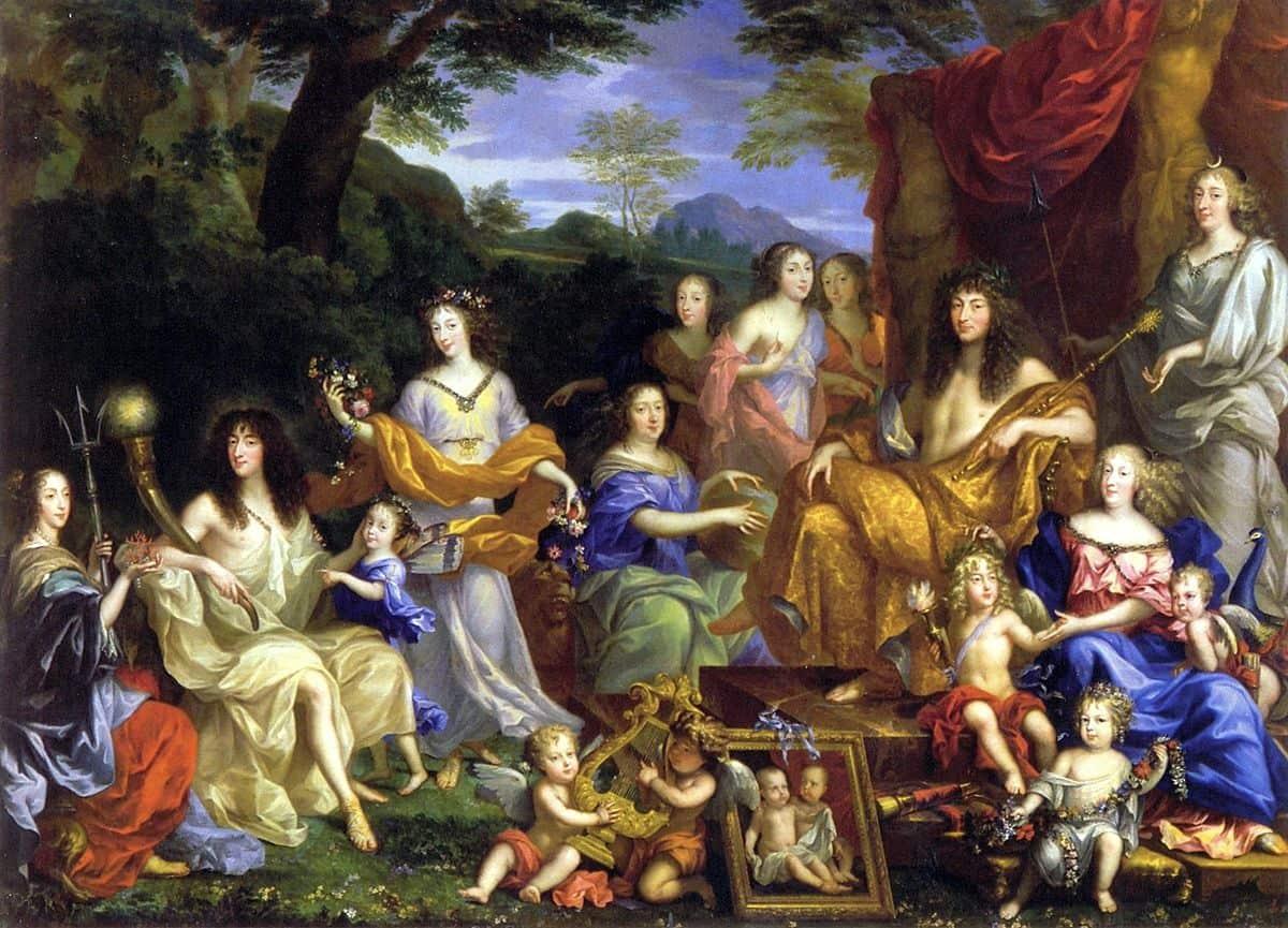 לואי ה-14, משפחת המלוכה, ז'אן נוקרה