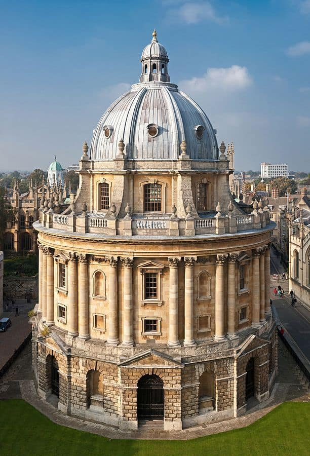 אוקספורד, ספרייה, רדקליף, מדע