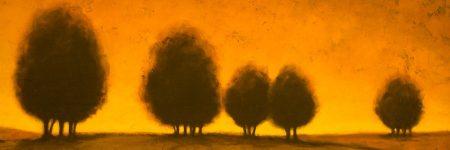 עצים, שמיים בוערים