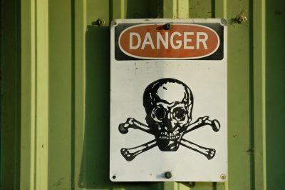 סכנה, גולגולתף מתח גבוה