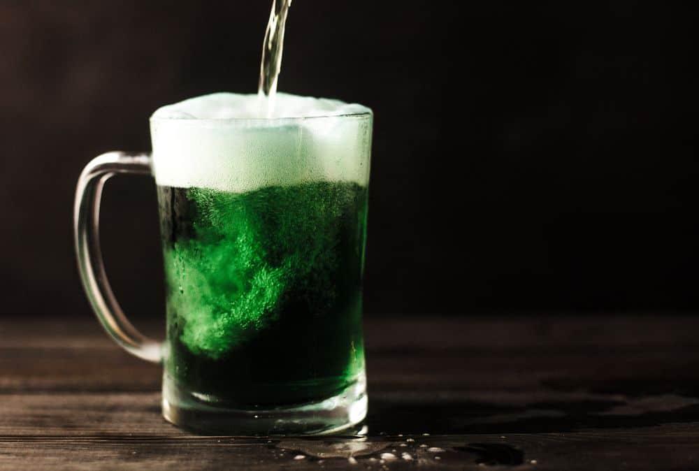 בירה ירוקה, בירה אירית, אירלנד, ירוק