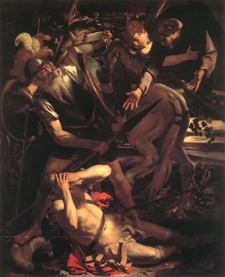 קאראווג'ו, ההמרה של פאולוס הקדוש