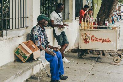 קובה, הוואנה, זקן, עוני
