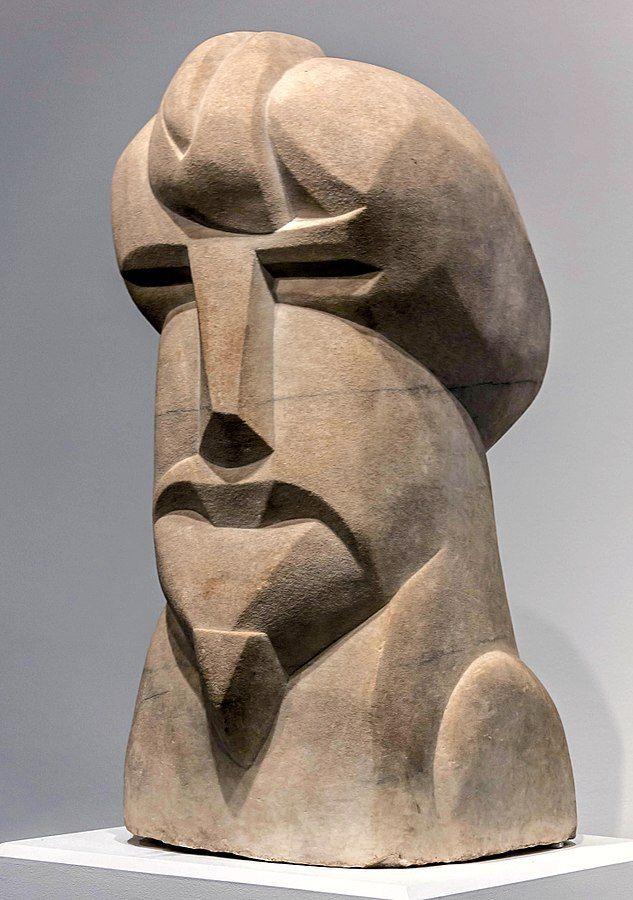 Henri Gaudier-Brzeska, עזרא פאונד, פסל