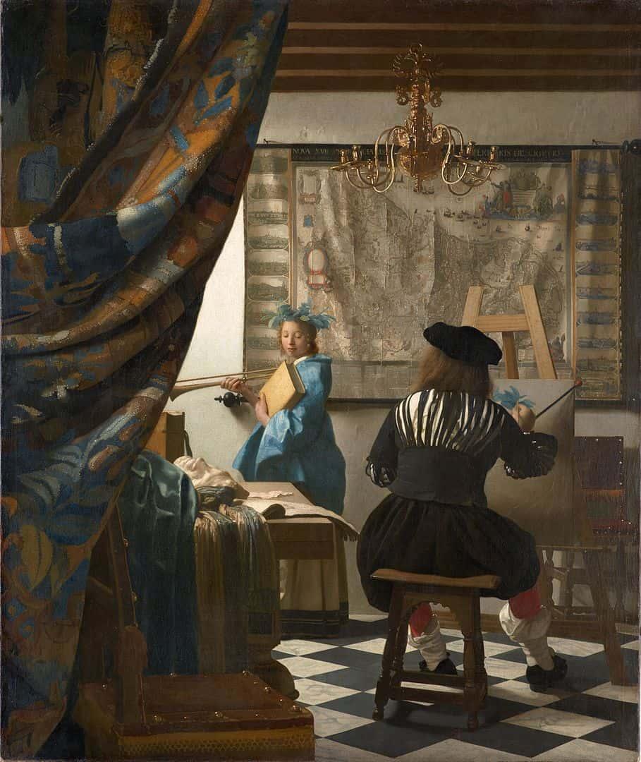 ורמיר, אלגוריית הציור