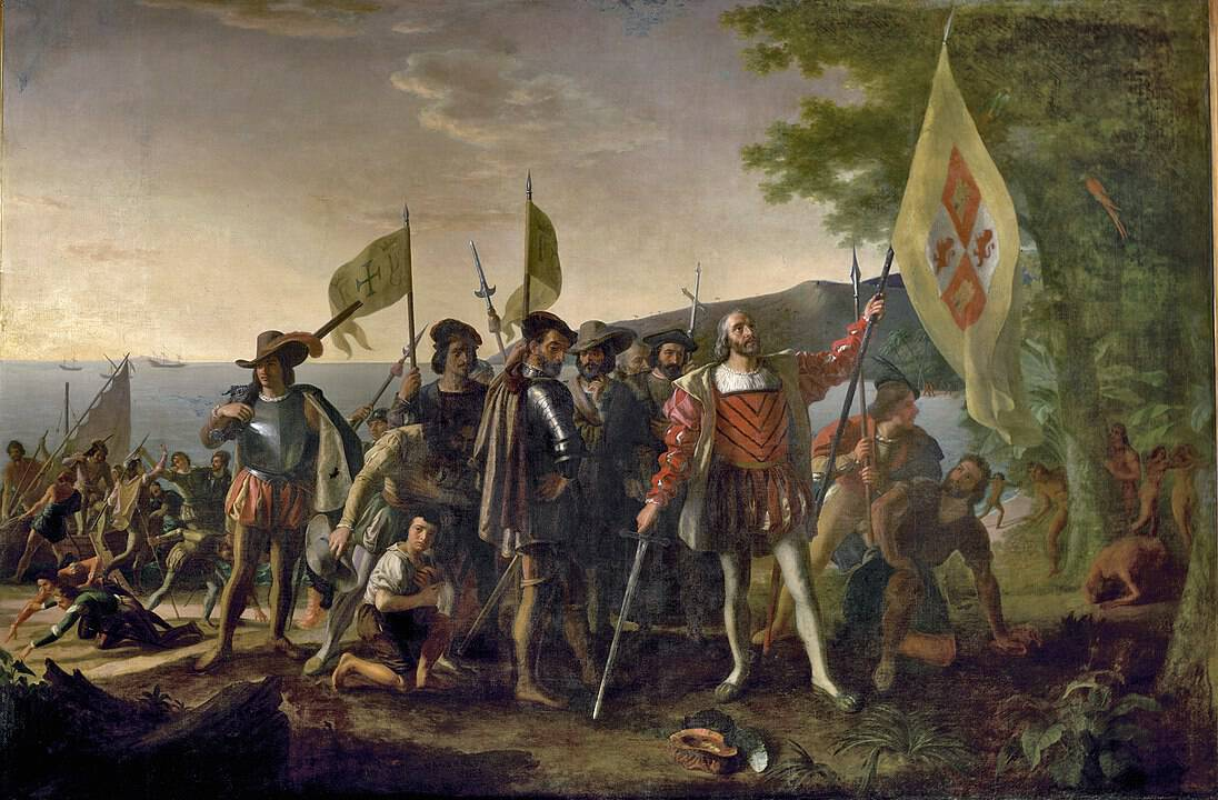 הנחיתה של קולומבוס, ג'ון ונרדליין