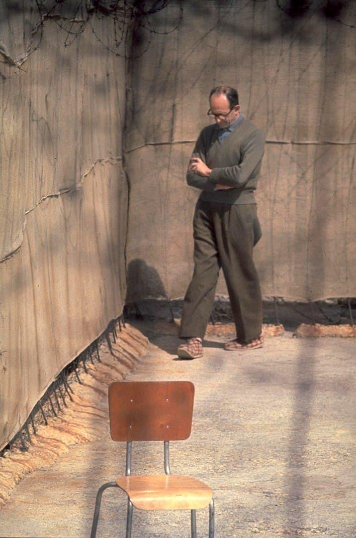 אדולף אייכמן, כלא רמלה