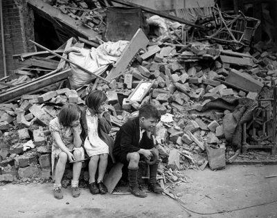 בליץ, לונדון, ילדים, איסט-אנד
