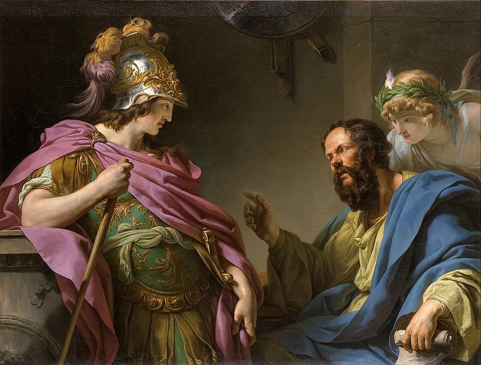 אלקיביאדס, סוקרטס