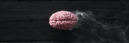 מוח, עשן, שחיקה