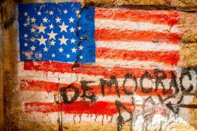 """דמוקרטיה, דגל, ארה""""ב"""