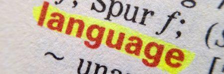 מילון, לשון, שפה