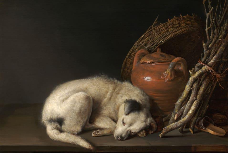 חריט דאו, כלב ישן