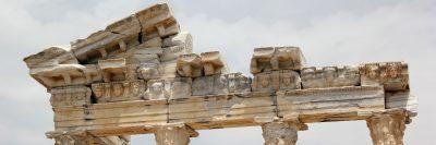 מקדש, יוון, שרידים, חורבה