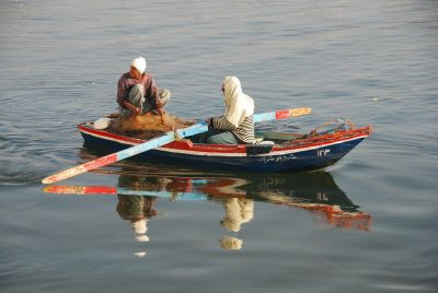 נהר הנילוס, מצרים, סירה, משוטים