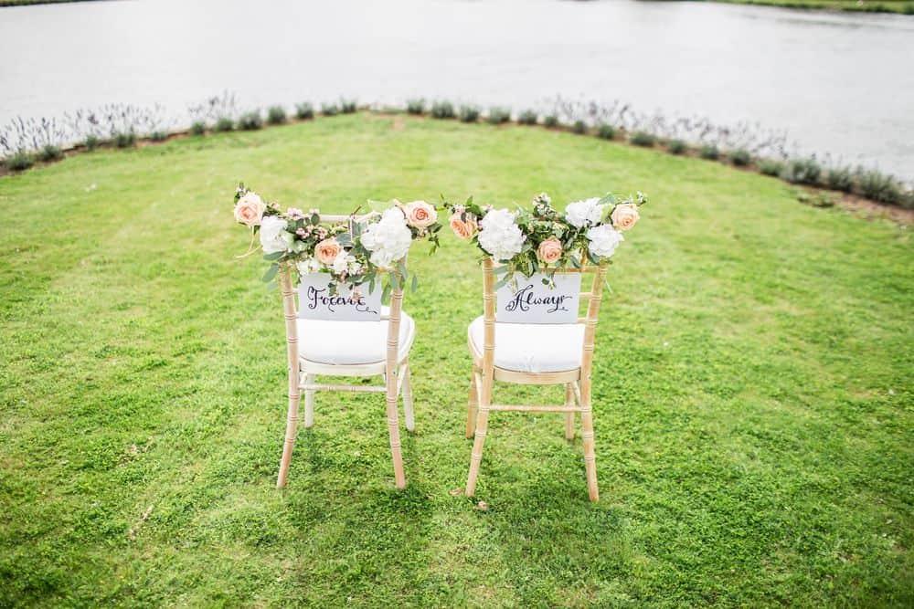 חתונה, כיסאות