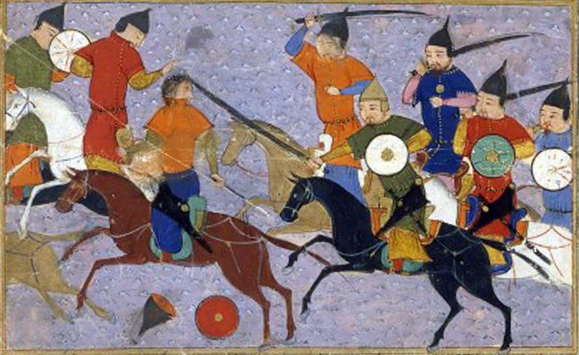 ג'ינגיס חאן, מונגולים, סינים, קרב