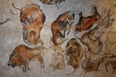 ציורי קיר, אלטמירה, ביזונים