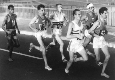 אבבה בקילה, מרתון, אולימפיאדה, רומא